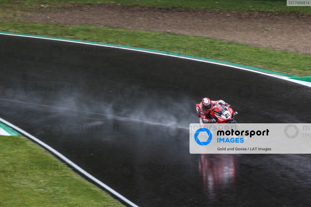 Michael Ruben Rinaldi, Barni Racing Team on wet assment laps.