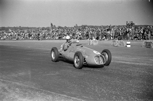 David Hampshire, Maserati 4CLT/48.
