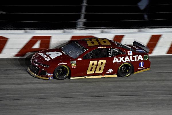 #88: Alex Bowman, Hendrick Motorsports, Chevrolet Camaro Axalta Throwback