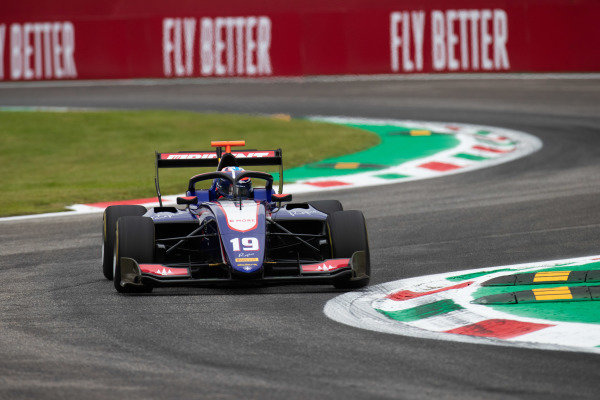 AUTODROMO NAZIONALE MONZA, ITALY - SEPTEMBER 06: Niko Kari (FIN, Trident) during the Monza at Autodromo Nazionale Monza on September 06, 2019 in Autodromo Nazionale Monza, Italy. (Photo by Joe Portlock / LAT Images / FIA F3 Championship)