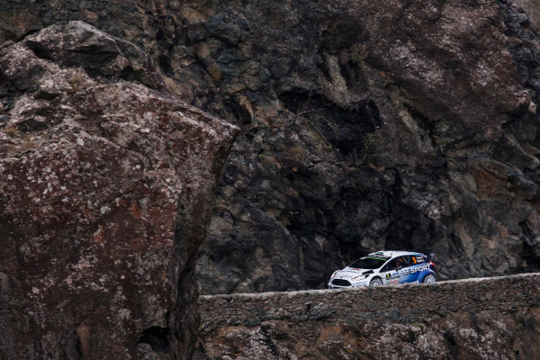 2015 World Rally Championship Round 11, Tour de Corse  1st - 4th October, 2015 Elfyn Evans, Ford, action  Worldwide Copyright: McKlein/LAT