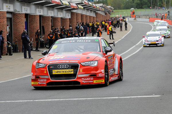 2017 British Touring Car Championship, Brands Hatch, Kent. 30th September - 1st October 2017, Ant Whorton-Eales (GBR) AmDtuning.com with Cobra Exhausts Audi S3 World copyright. JEP/LAT Images