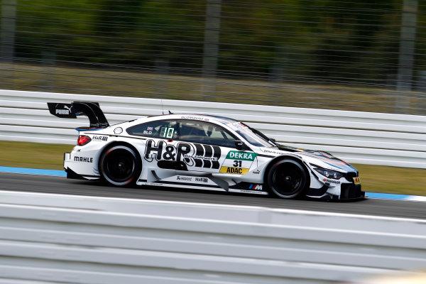 2017 DTM Round 1 Hockenheim, Germany. Friday 5 May 2017. Tom Blomqvist, BMW Team RBM, BMW M4 DTM World Copyright: Alexander Trienitz/LAT Images ref: Digital Image 2017-DTM-R1-HH-AT1-0623