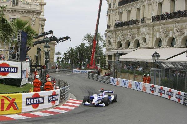 2007 GP2 Series. Round 3. Saturday Race.Monte-Carlo, Monaco. 26th May 2007.Christian Bakkerud (DK, David Price Racing). Action. World Copyright: Andrew Ferraro/GP2 Series Media Service ref: Digital ImageZP9O1055