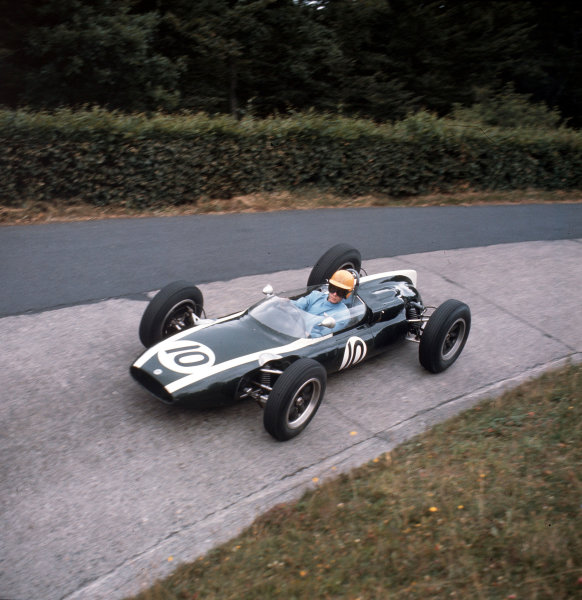 Nurburgring, Germany.3-5 August 1962.Tony Maggs (Cooper T55 Climax) 9th position.Ref-3/0625.World Copyright - LAT Photographic