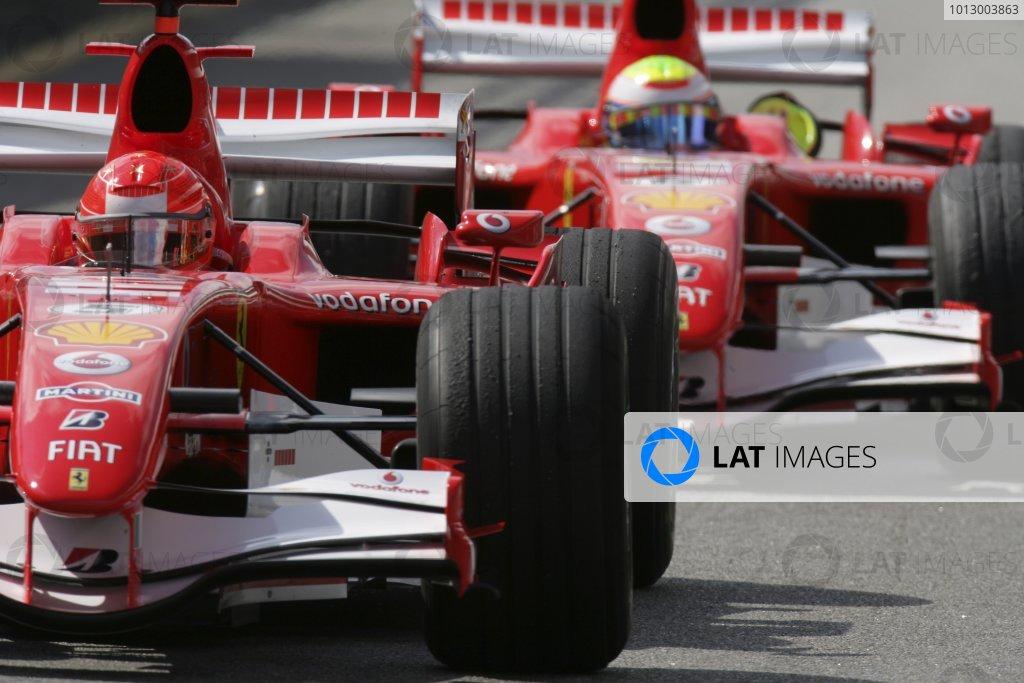 2006 Brazilian Grand Prix - Saturday Qualifying