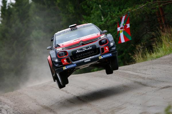 2017 FIA World Rally Championship, Round 09, Rally Finland / July 27 - 30, 2017, Craig Green, Citroen, action, Worldwide Copyright: McKlein/LAT