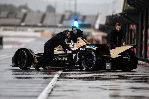 Andre Lotterer (DEU), DS TECHEETAH, DS E-Tense FE19 returns to the garage
