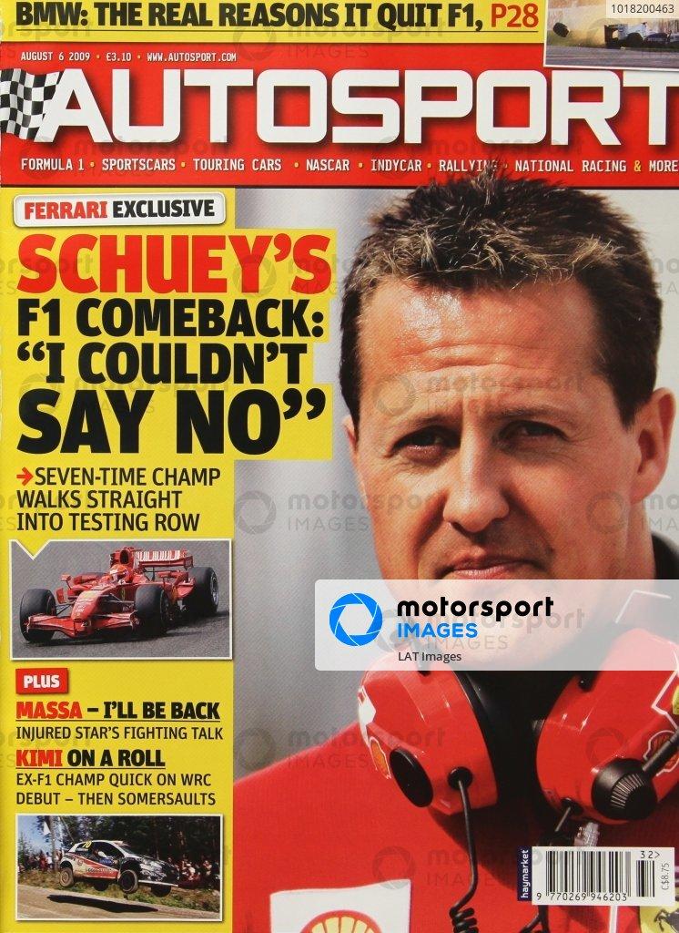 Autosport Covers 2009