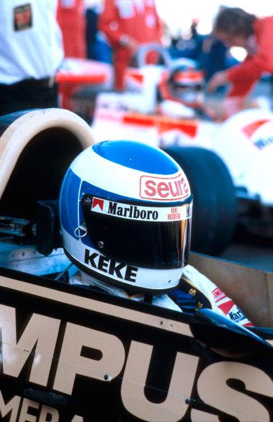1979 French Grand Prix.Dijon-Prenois, France.29/6-1/7 1979.Keke Rosberg (Wolf Ford) 9th position.Ref-79 FRA 31.World Copyright - LAT Photographic