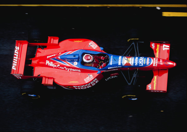 1996 San Marino Grand Prix.Imola, Italy. 3-5 May 1996.Jos Verstappen (Footwork FA17 Hart).Ref-96 SM 31.World Copyright - LAT Photographic