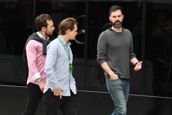 Marc Hynes (GBR) at Formula One World Championship, Rd10, British Grand Prix, Race, Silverstone, England, Sunday 16 July 2017.