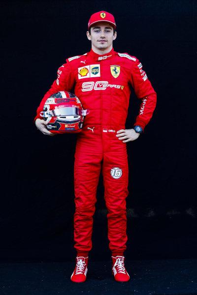 Official Portrait of Charles Leclerc, Ferrari
