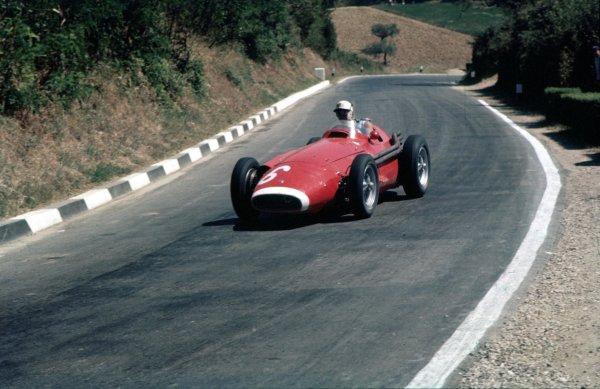 1957 Pescara Grand Prix.Pescara, Italy.16-18 August 1957. Harry Schell (Maserati 250F) 3rd position.Ref-57 PES 04.World Copyright - LAT Photographic