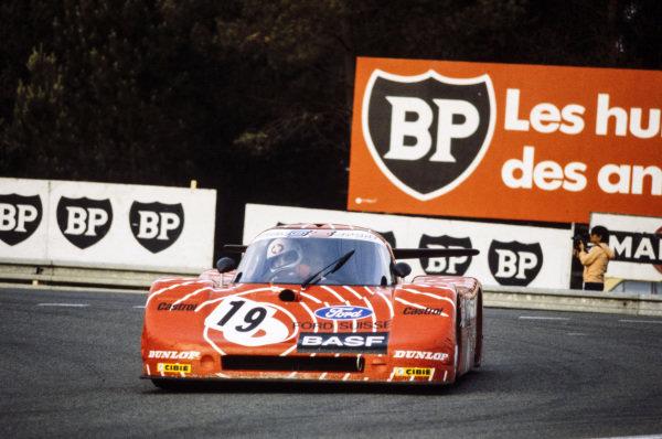 Walter Brun / Siegfried Müller Jr., BASF Cassetten Team GS Sport, Sauber SHS C6.