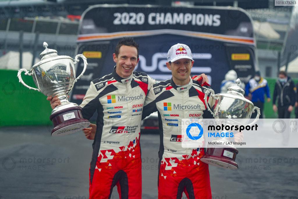 Sébastien Ogier (FRA) and Julien Ingrassia (FRA), Toyota Gazoo Racing WRT, Toyota Yaris WRC 2020