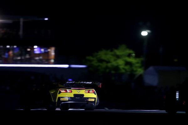 #37 Callaway Competition with BINGORACING Corvette C7 GT3-R: Shinji Takei, Ryo Ogawa, Markus Pommer.