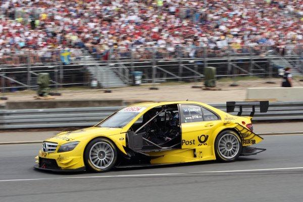 David Coulthard (GBR), AMG Mercedes C-Klasse (2008).DTM, Rd4, Norisring, Nuremberg, Germany. 2-4 July 2010 World Copyright: LAT PhotographicRef: Digital Image dne1004jy636