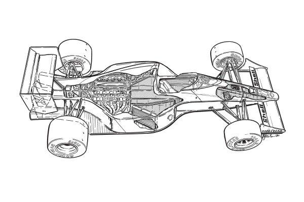 McLaren MP4-5B 1990