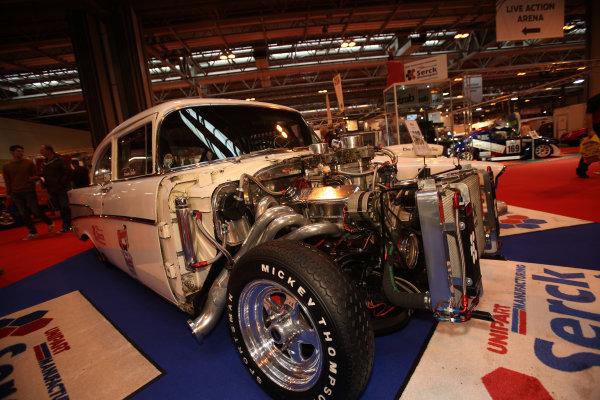 Autosport International Show NEC, Birmingham.  Sunday 12 January 2014. 1957 Chevrolet. World Copyright:Sam Bloxham/LAT Photographic ref: Digital Image IMG_8297