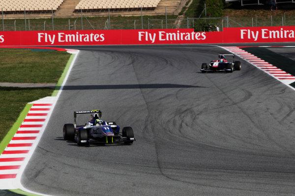2015 GP3 Series Round 1. Circuit de Catalunya, Barcelona, Spain. Sunday 10 May 2015. Jimmy Eriksson (SWE, Koiranen GP). Photo: Zak Mauger/GP3 Series Media Service. ref: Digital Image _MG_7290
