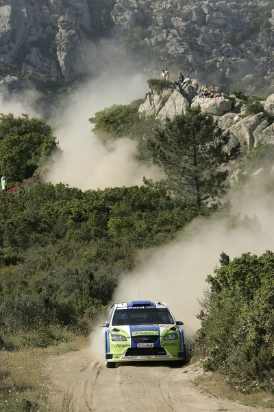 2006 FIA World Rally Championship.Round 7. 18th - 21st May 2006.Rally of Italy, Sardinia.Marcus Gronholm, Ford, action.World Copyright: McKlein/LAT