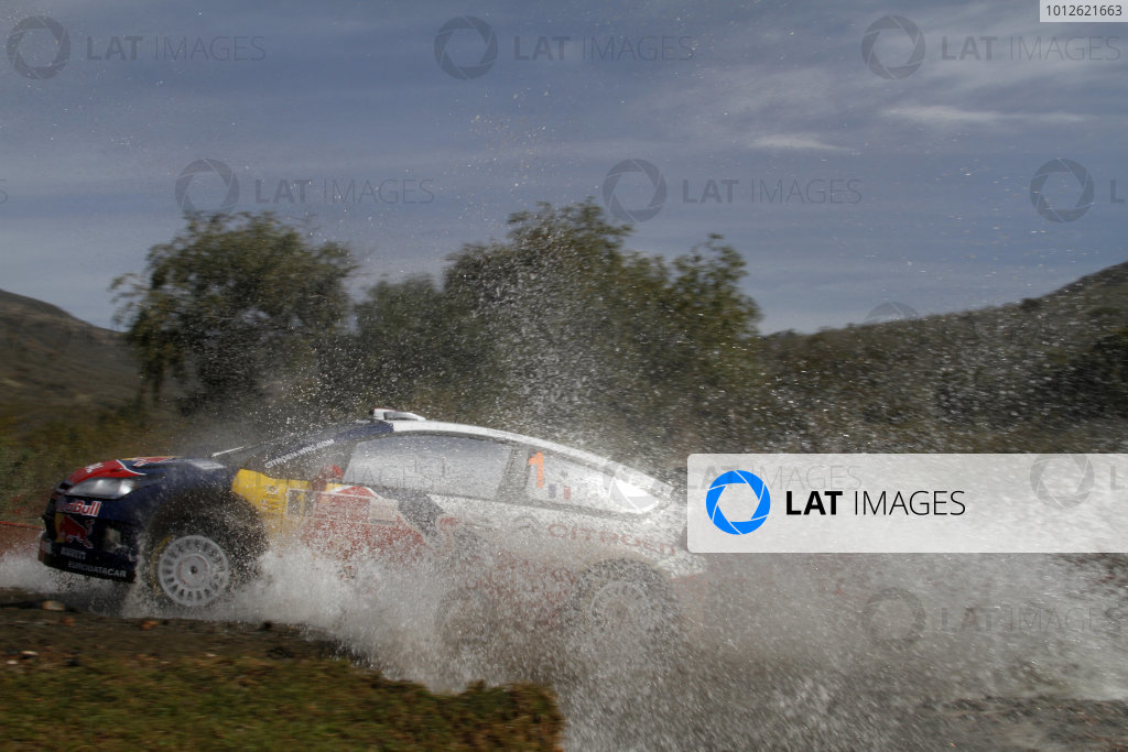 2010 FIA World Rally ChampionshipRound 02Rally Mexico 4-7 Mars 2010Sebastien Loeb, Citroen WRC, ActionWorldwide Copyright: McKlein/LAT