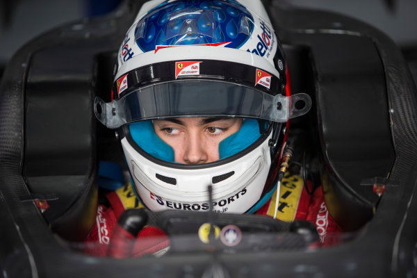 2018 GP3 Series Test 1. Circuit Paul Ricard, Le Castellet, France. Thursday 22 February 2018. Giuliano Alesi (FRA, Trident) Photo: Andrew Ferraro/GP3 Series Media Service. ref: Digital Image _X0W8879