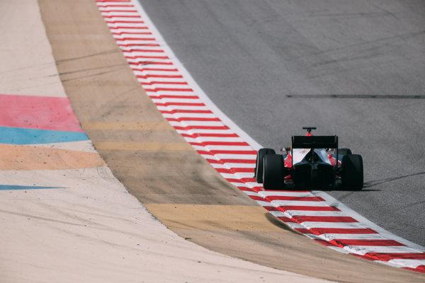 Bahrain International Circuit, Sakhir, Bahrain. Thursday 30 March 2017 Nabil Jeffri (MAS) Trident Photo: Malcolm Griffiths/FIA Formpula 2 ref: Digital Image MALC6828