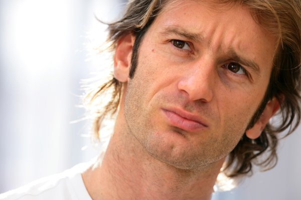 2007 Spanish Grand PrixCircuit de Catalunya, Barcelona, Spain.11th - 13th May 2007.Jarno Trulli, Toyota TF107. Portrait.World Copyright: Lorenzo Bellanca/LAT Photographicref: Digital Image ZD2J5528