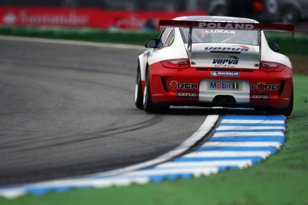 Robert Lukas (POL) Verva Racing Team. Porsche Supercup, Rd 6, Hockenheim, Germany, 23-25 July 2010.