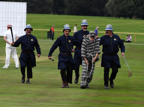 Goodwood Revival Cricket Match Keystone Cops