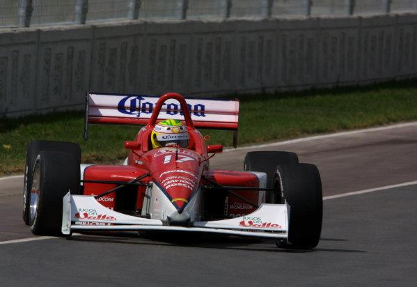 "2001 Indy Lights Monterrey Mexico, 8-12 March, 2001, Fundidora Park, Monterrey, MexicoMario ""Mad Dog"" Dominguez-2001, Phil Abbott, USALAT Photographic"