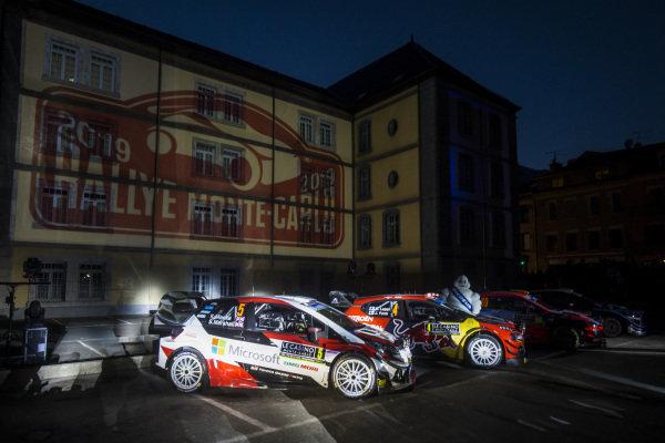 Atmosphere before the start of Rallye Monte Carlo 2019