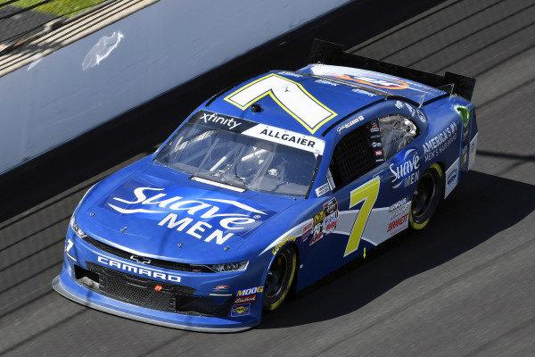#7: Justin Allgaier, JR Motorsports, Chevrolet Camaro Suave Men