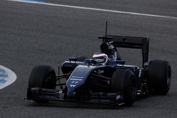 2014 F1 Pre Season Test 1 - Preview Circuito de Jerez, Jerez, Spain. Tuesday 28 January 2014. Valtteri Bottas, Williams FW36 Mercedes. World Copyright: Alastair Staley/LAT Photographic. ref: Digital Image _R6T8752