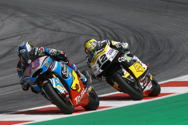 2017 Moto2 Championship - Round 11 Spielberg, Austria Sunday 13 August 2017 Alex Marquez, Marc VDS, Thomas Luthi, CarXpert Interwetten World Copyright: Gold and Goose / LAT Images ref: Digital Image 687144