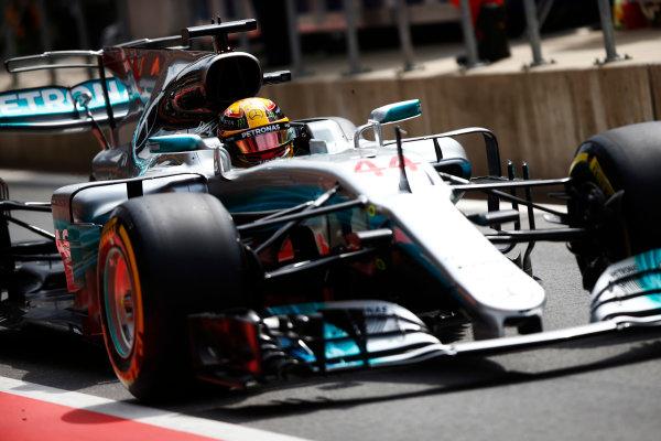 Red Bull Ring, Spielberg, Austria. Saturday 08 July 2017. Lewis Hamilton, Mercedes F1 W08 EQ Power+.  World Copyright: Andy Hone/LAT Images ref: Digital Image _ONY0347