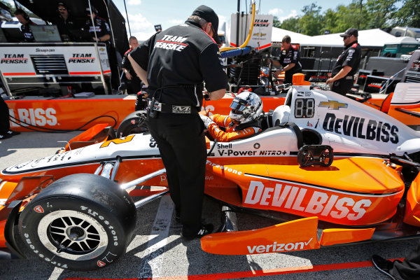 Verizon IndyCar Series Kohler Grand Prix Road America, Elkhart Lake, WI USA Friday 23 June 2017 Josef Newgarden, Team Penske Chevrolet World Copyright: Phillip Abbott LAT Images ref: Digital Image abbott_elkhart_0617_1320