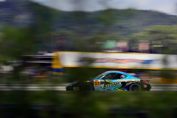 IMSA Continental Tire SportsCar Challenge Lime Rock Park 120 Lime Rock Park, Lakeville, CT USA Friday 21 July 2017 31, Porsche, Porsche Cayman, ST, Drake Kemper, Devin Jones World Copyright: Gavin Baker LAT Images