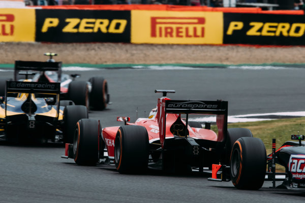 2017 FIA Formula 2 Round 6. Silverstone, Northamptonshire, UK. Sunday 16 July 2017. Charles Leclerc (MCO, PREMA Racing).  Photo: Malcolm Griffiths/FIA Formula 2. ref: Digital Image MALC7728