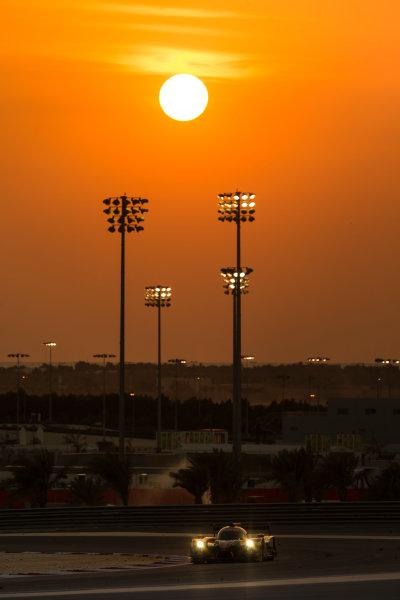 2015 FIA World Endurance Championship Bahrain 6-Hours Bahrain International Circuit, Bahrain Saturday 21 November 2015. Gustavo Yacaman, Luis Felipe Derani, Ricardo Gonzalez (#28 LMP2 G-Drive Racing Ligier JS P2 Nissan). World Copyright: Sam Bloxham/LAT Photographic ref: Digital Image _SBL5183