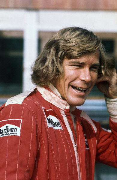 Monte Carlo, Monaco. 27th - 30th May 1976. James Hunt (McLaren M23-Ford), retired, portrait. World Copyright: LAT Photographic.  Ref:  76 MON 68.