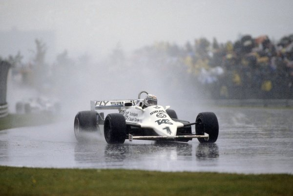 1981 Canadian Grand PrixMontreal, Canada. 25-27 September 1981.Alan Jones (Williams FW07C-Ford Cosworth), retired. Ref - 81CAN06.World Copyright - LAT Photographic