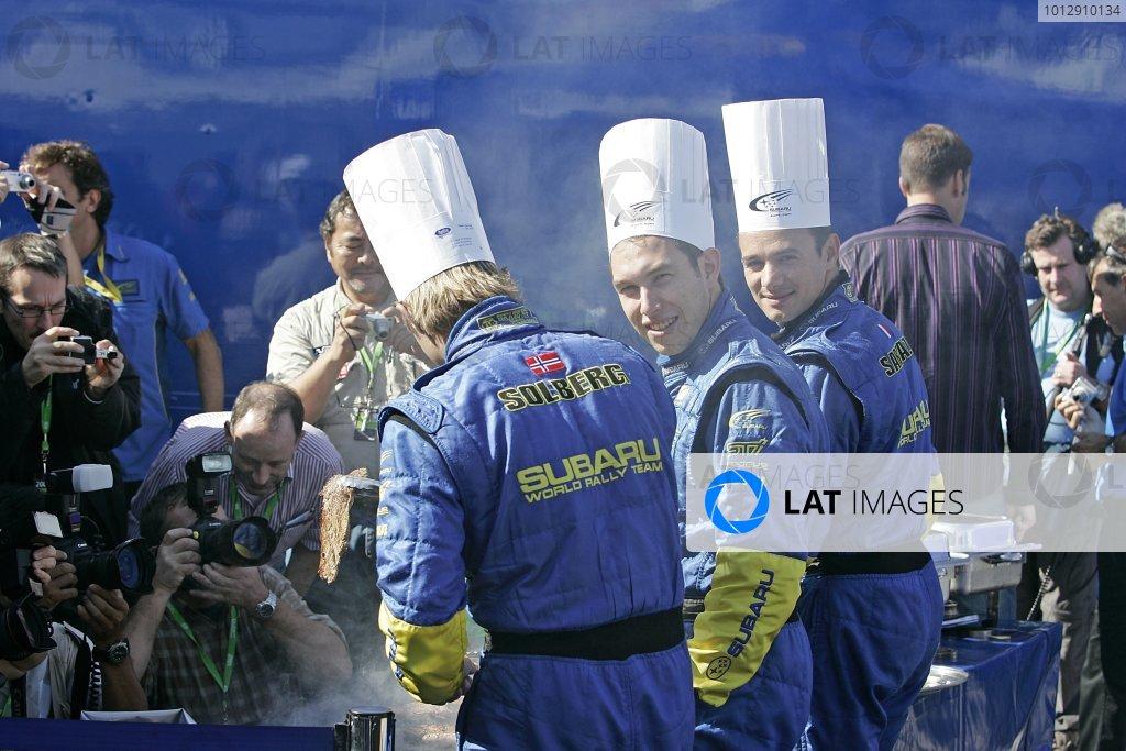 2005 FIA World Rally Champs. Round fourteen