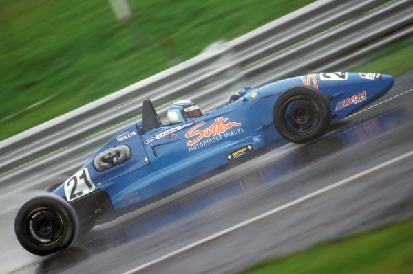Kimi Raikkonen (FIN) made it to the final in this competitive competition where he retired.  