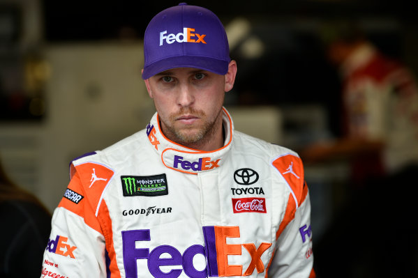 Monster Energy NASCAR Cup Series First Data 500 Martinsville Speedway, Martinsville VA USA Saturday 28 October 2017 Denny Hamlin, Joe Gibbs Racing, FedEx Walgreens Toyota Camry World Copyright: Scott R LePage LAT Images ref: Digital Image lepage-171028-mart-3795