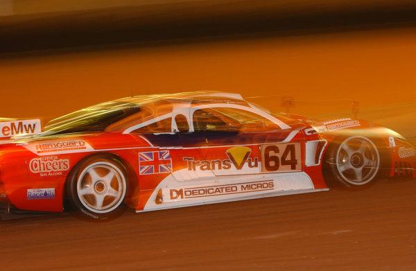 2003 Le mans 24 HoursLe Mans, France. 11th June 2003Night action.World Copyright: Geoff Bloxham/LAT Photographicref: Digital Image Only