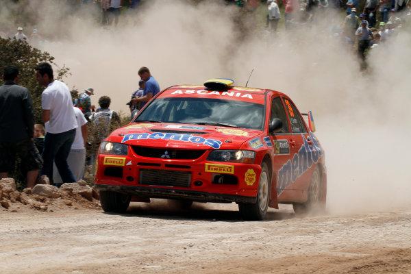 Round 06 - Rally Acropolis Greece. 24-27 May 2012. Valeriy Gorban, Mitsubishi PWRC, Action. Worldwide Copyright: McKlein/LAT