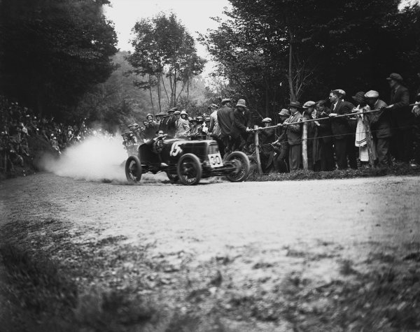 Shelsley Walsh, Great Britain. 29th July 1922Count Zborowski, Grand Prix Aston Martin,3rd in Light Car class Ref: A678World Copyright: LAT Photographic